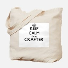 Keep calm I'm a Crafter Tote Bag