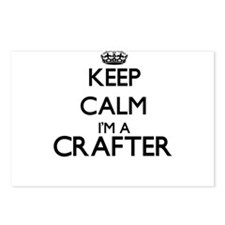 Keep calm I'm a Crafter Postcards (Package of 8)