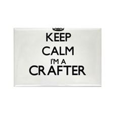 Keep calm I'm a Crafter Magnets