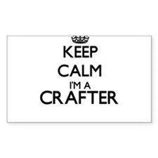 Keep calm I'm a Crafter Decal