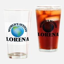World's Sexiest Lorena Drinking Glass
