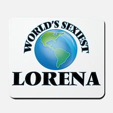 World's Sexiest Lorena Mousepad