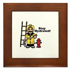 Stay Hydrated! Framed Tile