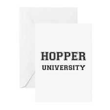 HOPPER UNIVERSITY Greeting Cards (Pk of 10)