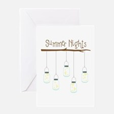 Summer Nights Greeting Cards