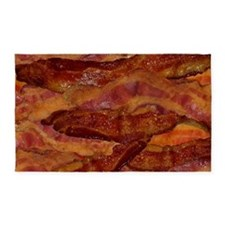 Bacon! Bacon! Bacon! 3'x5' Area Rug