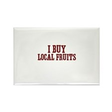 I buy local fruits Rectangle Magnet (10 pack)