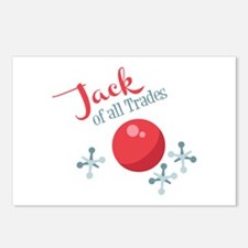 Jack Of All Trades Postcards (Package of 8)