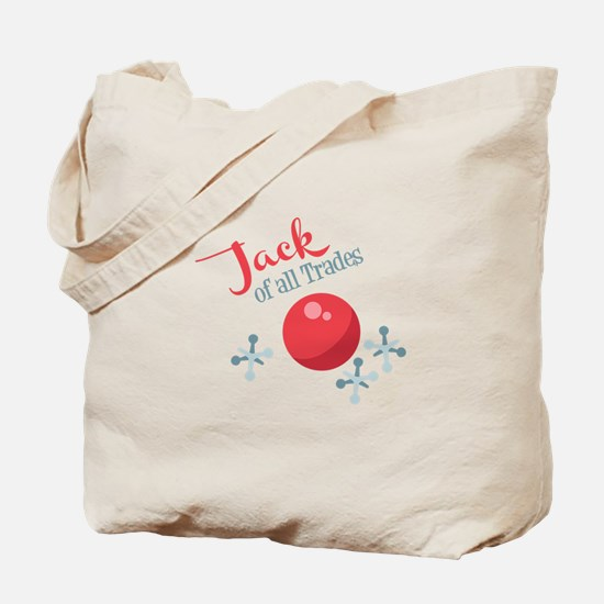 Jack Of All Trades Tote Bag