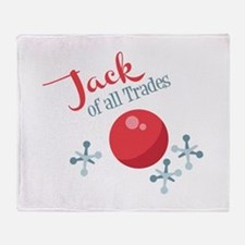 Jack Of All Trades Throw Blanket