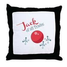 Jack Of All Trades Throw Pillow