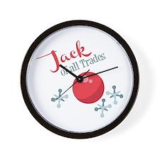 Jack Of All Trades Wall Clock