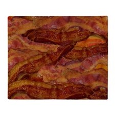 Bacon! Bacon! Bacon! Throw Blanket