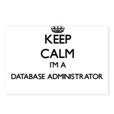 Keep calm I'm a Database Postcards (Package of 8)