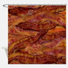 Bacon! Bacon! Bacon! Shower Curtain
