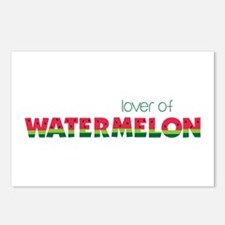 Love Of Watermelon Postcards (Package of 8)