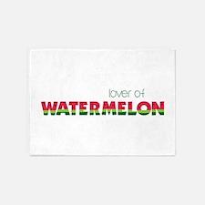 Love Of Watermelon 5'x7'Area Rug