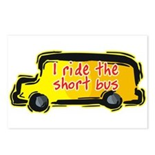 I Ride the Short Bus Postcards (Package of 8)