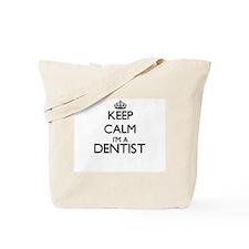 Keep calm I'm a Dentist Tote Bag