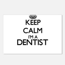 Keep calm I'm a Dentist Postcards (Package of 8)