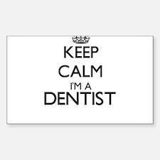 Keep calm I'm a Dentist Bumper Stickers