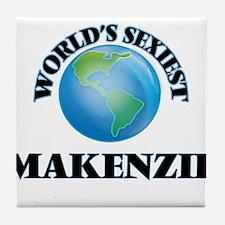 World's Sexiest Makenzie Tile Coaster
