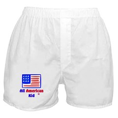 All American Kid Boxer Shorts