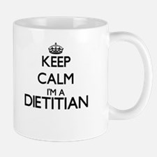 Keep calm I'm a Dietitian Mugs