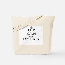 Keep calm I'm a Dietitian Tote Bag