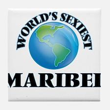 World's Sexiest Maribel Tile Coaster