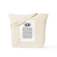 FALSE FRIENDS Tote Bag