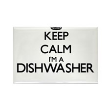Keep calm I'm a Dishwasher Magnets