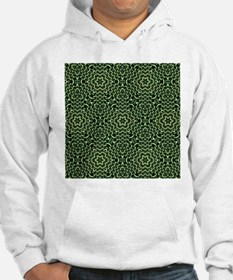 Woven from Chains green Hoodie