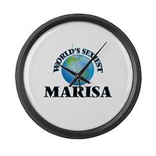 World's Sexiest Marisa Large Wall Clock