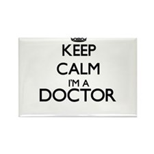 Keep calm I'm a Doctor Magnets