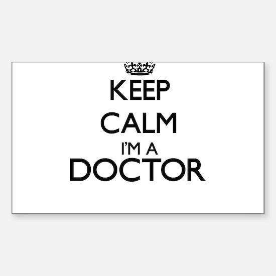 Keep calm I'm a Doctor Decal