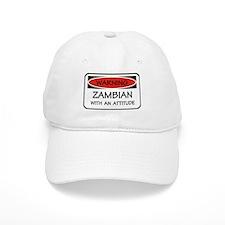 Attitude Zambian Baseball Cap