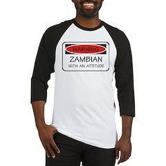 Attitude Zambian Baseball Jersey