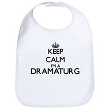 Keep calm I'm a Dramaturg Bib