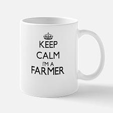 Keep calm I'm a Farmer Mugs