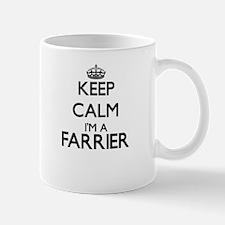 Keep calm I'm a Farrier Mugs