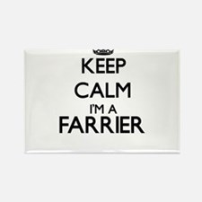 Keep calm I'm a Farrier Magnets