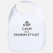 Keep calm I'm a Fashion Stylist Bib