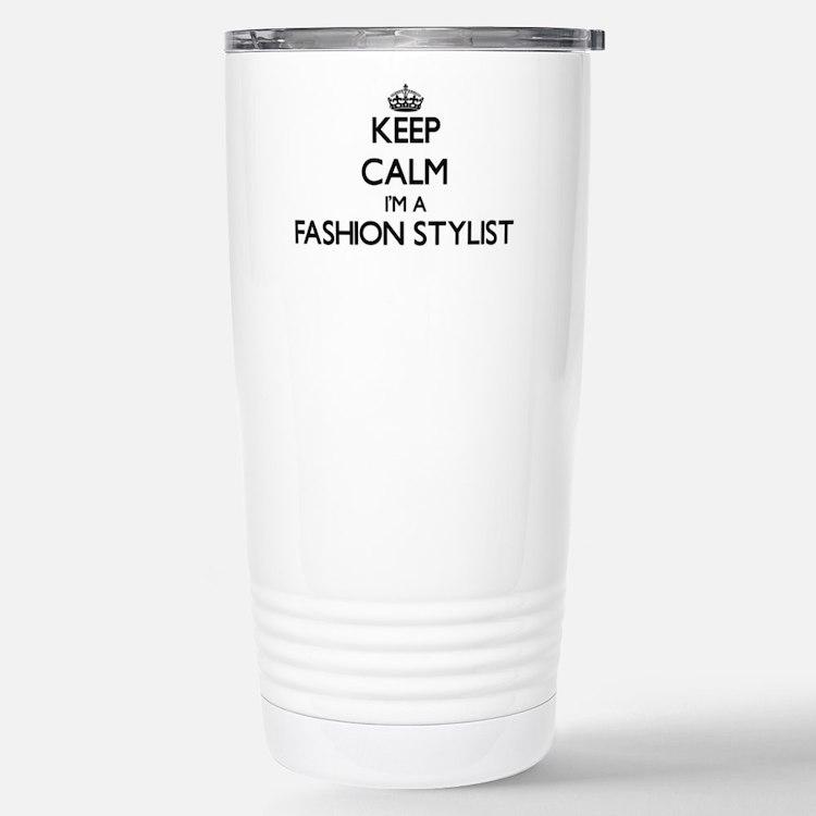 Keep calm I'm a Fashion Travel Mug