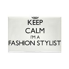 Keep calm I'm a Fashion Stylist Magnets