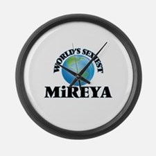 World's Sexiest Mireya Large Wall Clock