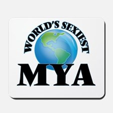 World's Sexiest Mya Mousepad