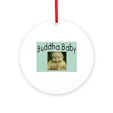 BUDDHA BABY 2 Ornament (Round)