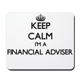 Financial adviser Mouse Pads