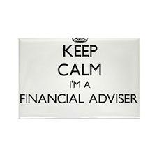 Keep calm I'm a Financial Adviser Magnets